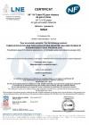 Afnor PE80 y PE100 industria, agua no potable y saneamiento GR4-01