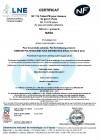 Afnor PE80 y PE100 agua potable GR2-1